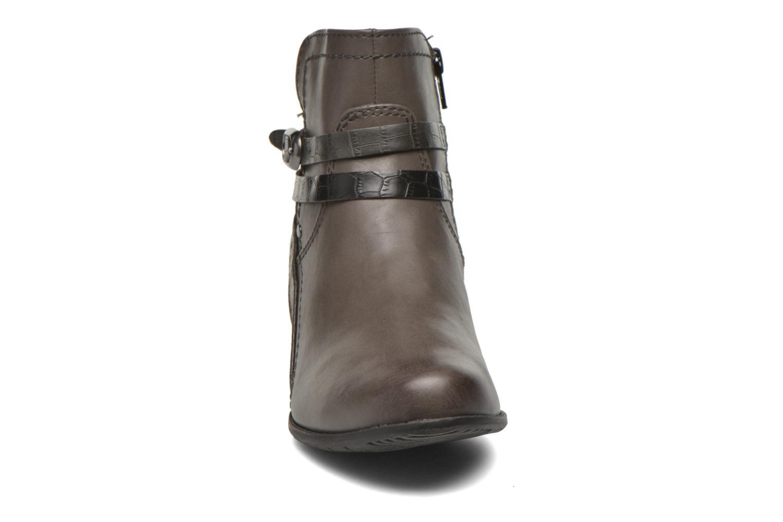 Bottines et boots Jana shoes Orchis Gris vue portées chaussures