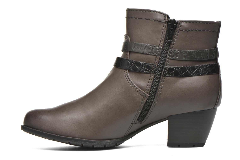 Bottines et boots Jana shoes Orchis Gris vue face