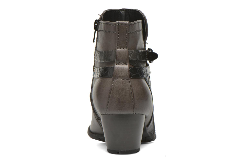 Bottines et boots Jana shoes Orchis Gris vue droite