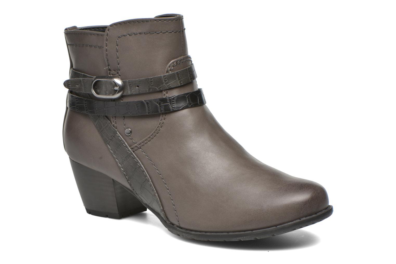 Bottines et boots Jana shoes Orchis Gris vue détail/paire