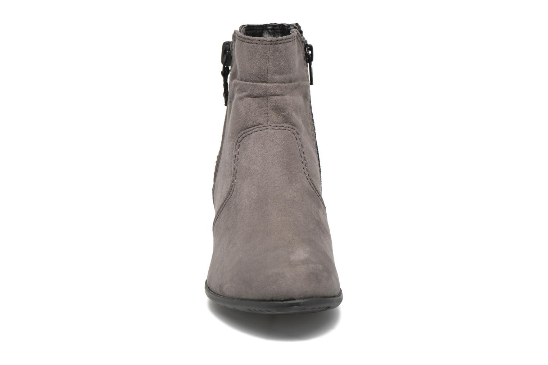 Bottines et boots Jana shoes Scille Gris vue portées chaussures