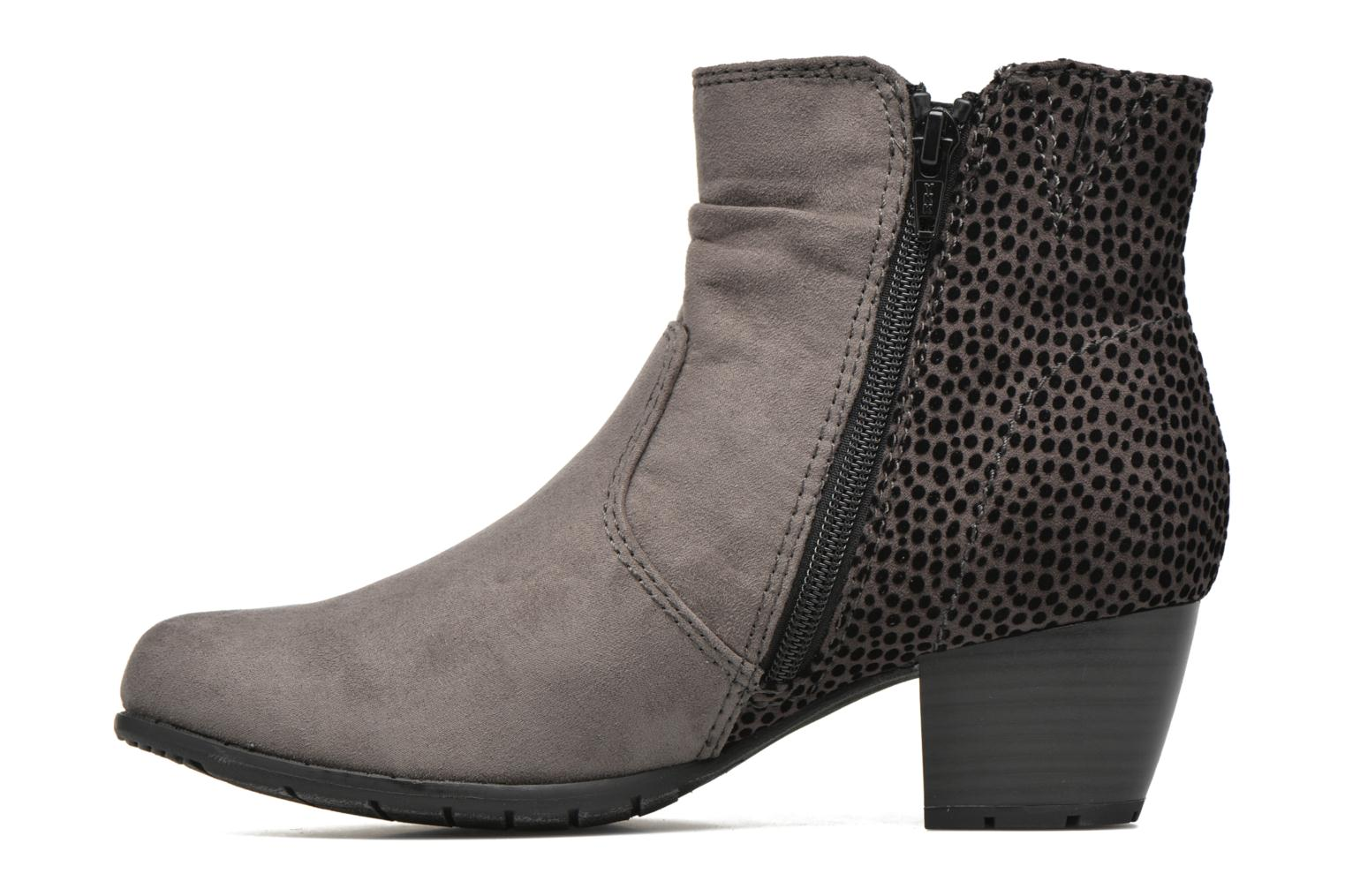 Ankle boots Jana shoes Scille Grey front view