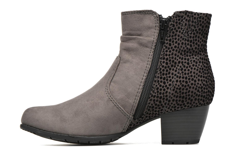 Bottines et boots Jana shoes Scille Gris vue face