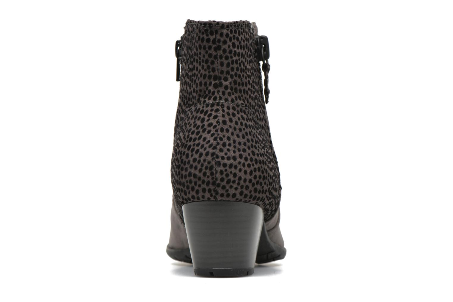 Ankle boots Jana shoes Scille Grey view from the right