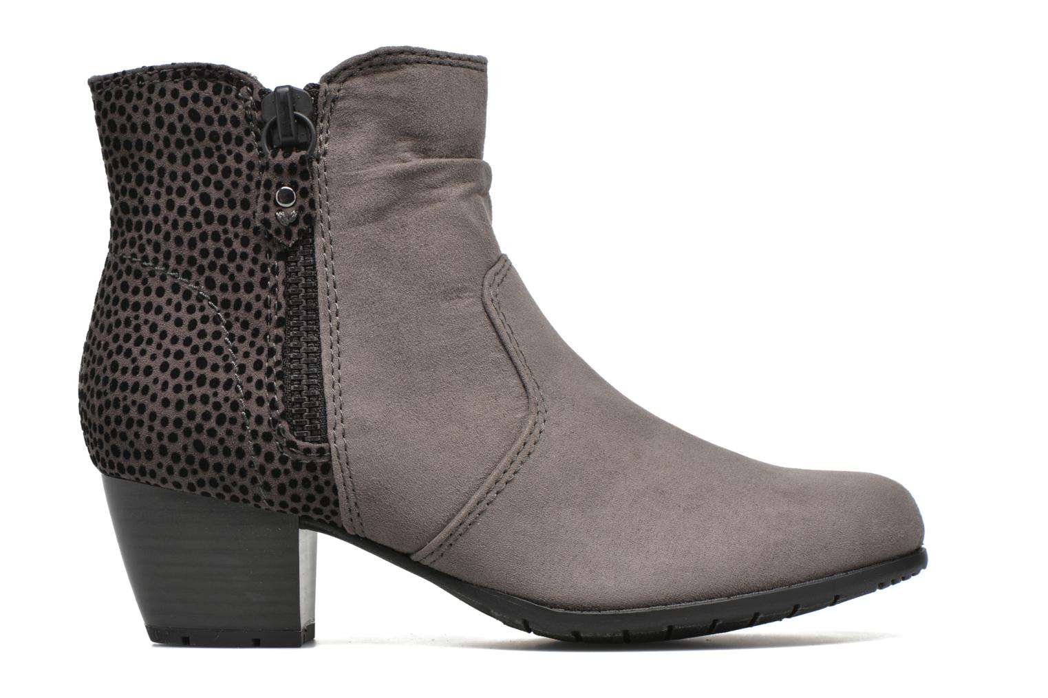 Ankle boots Jana shoes Scille Grey back view