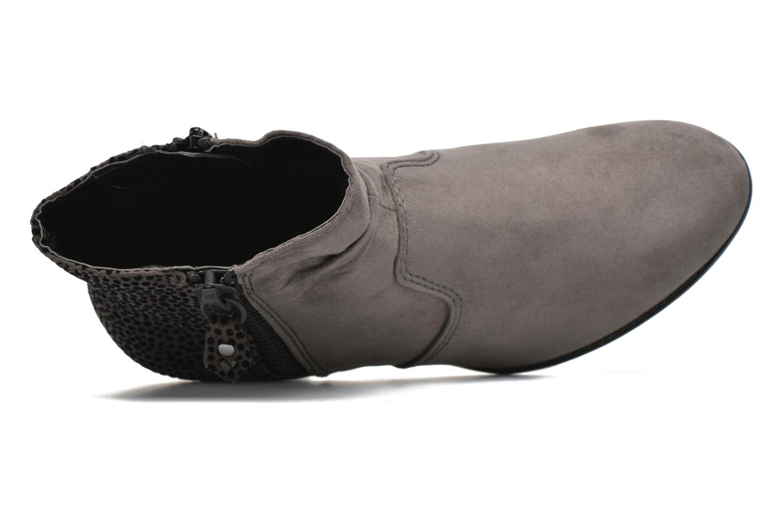 Botines  Jana shoes Scille Gris vista lateral izquierda