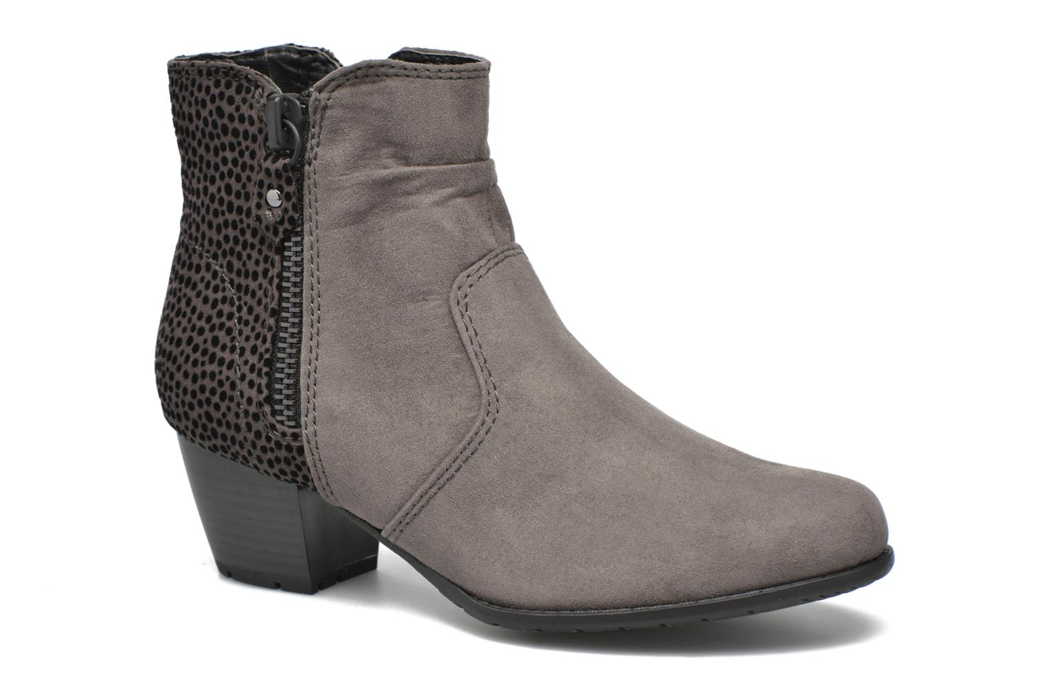 Ankle boots Jana shoes Scille Grey detailed view/ Pair view