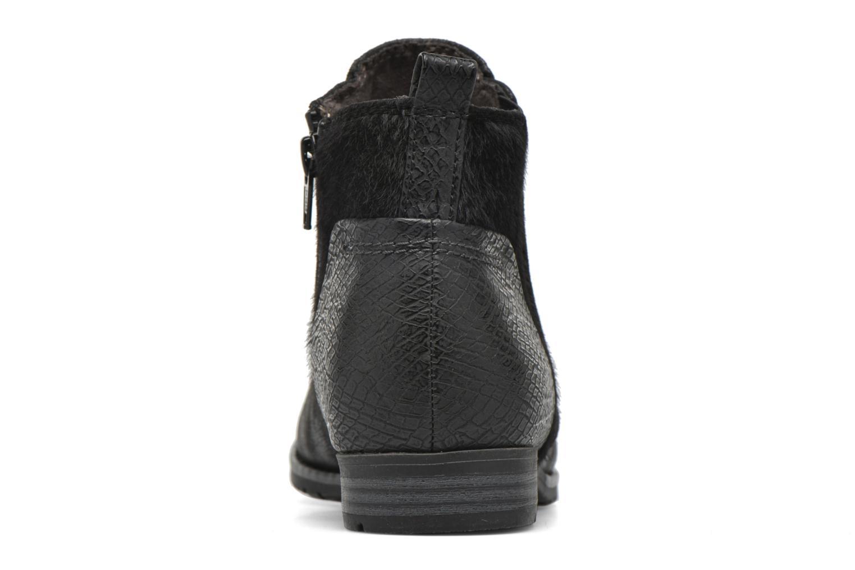 Bottines et boots Jana shoes Vesce Noir vue droite