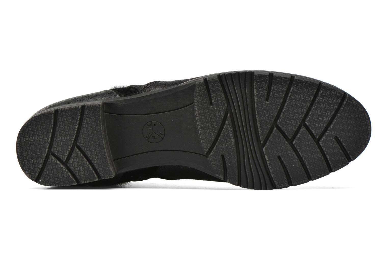 Bottines et boots Jana shoes Vesce Noir vue haut