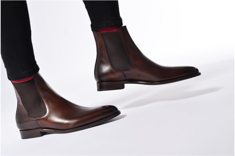 Bottines et boots Marvin&Co Luxe WASPEN Marron vue bas / vue portée sac