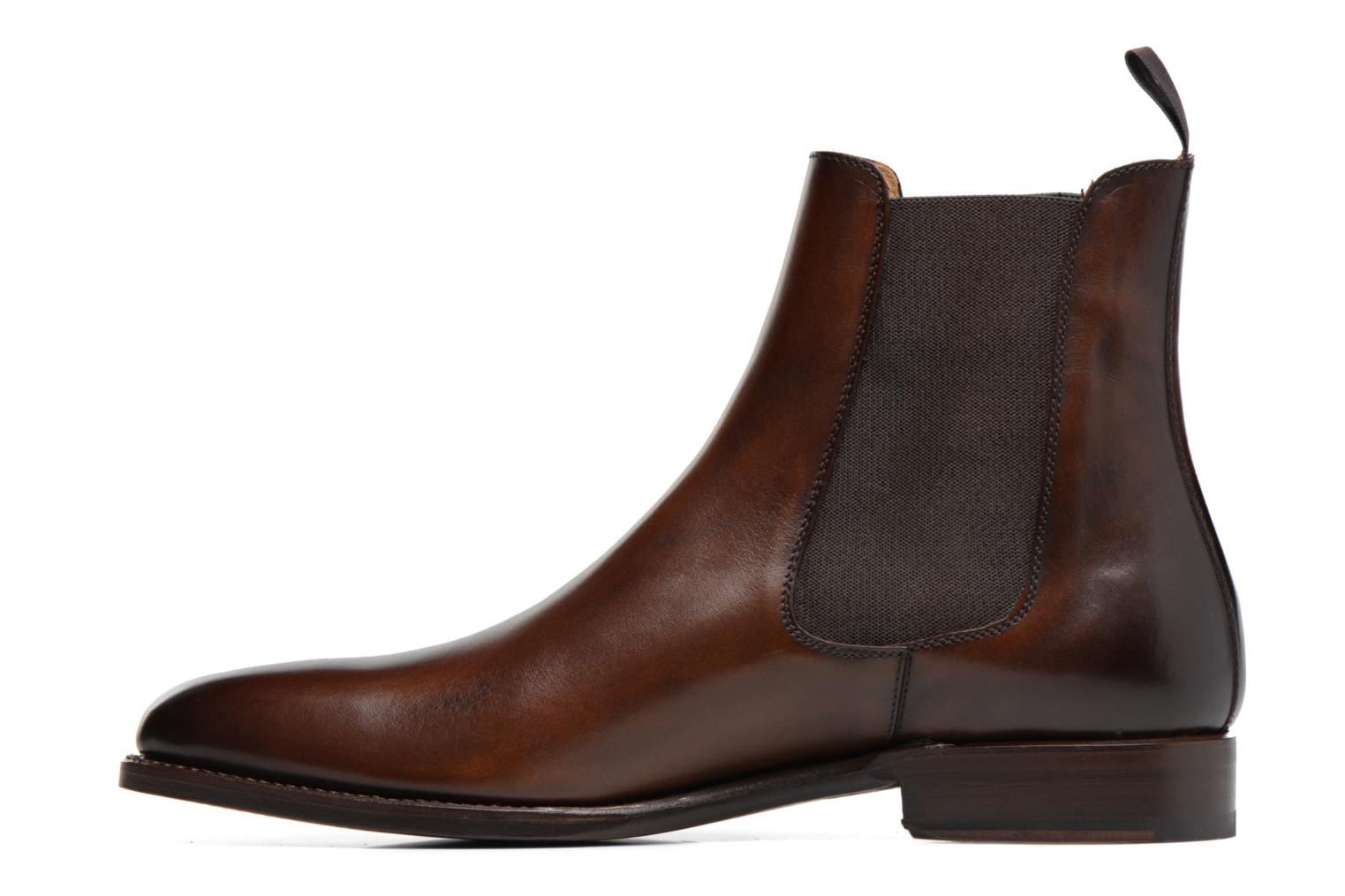 Bottines et boots Marvin&Co Luxe WASPEN - Cousu Goodyear Marron vue face