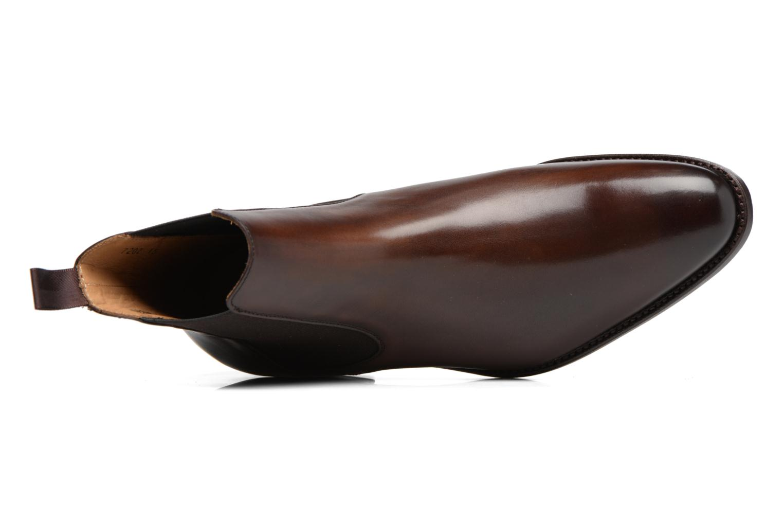 Stivaletti e tronchetti Marvin&Co Luxe WASPEN - Cousu Goodyear Marrone immagine sinistra