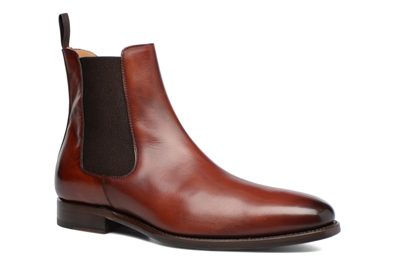 Ankelstøvler Marvin&Co Luxe WASPEN - Cousu Goodyear Brun detaljeret billede af skoene