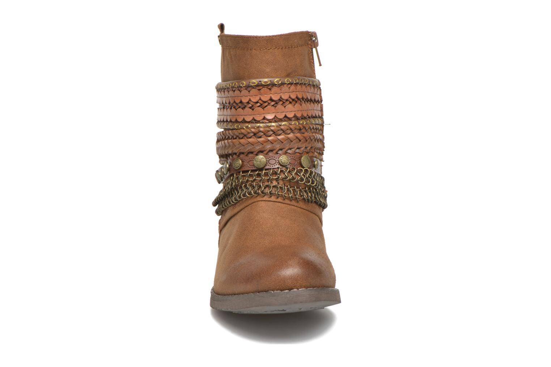 Stiefeletten & Boots Bullboxer Lalima braun schuhe getragen
