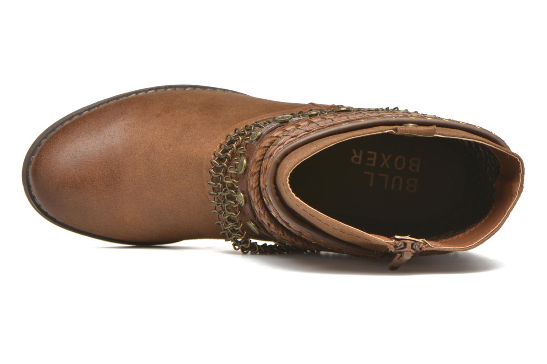 Stiefeletten & Boots Bullboxer Lalima braun ansicht von links