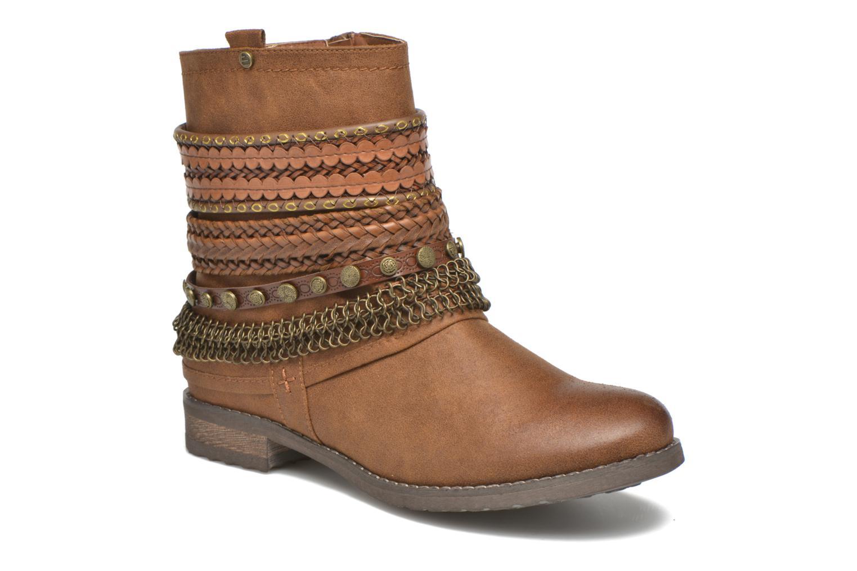 Bottines et boots Bullboxer Lalima Marron vue détail/paire