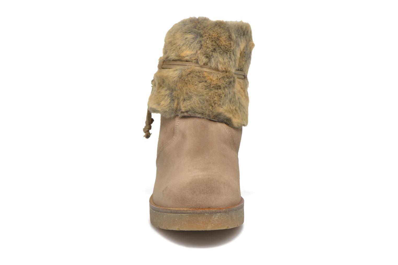 Stiefeletten & Boots Bullboxer Damia beige schuhe getragen