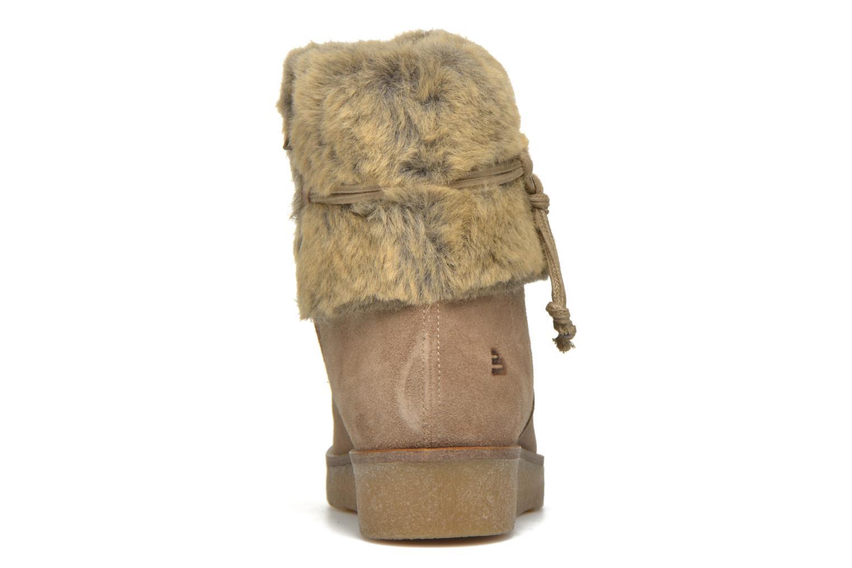 Stiefeletten & Boots Bullboxer Damia beige ansicht von rechts