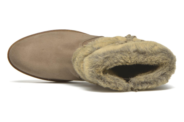 Stiefeletten & Boots Bullboxer Damia beige ansicht von links