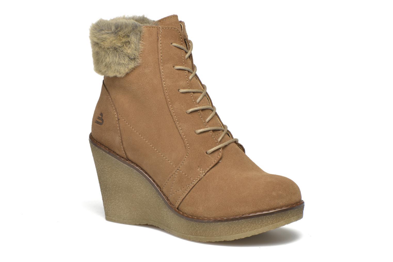 Bottines et boots Bullboxer Daya Beige vue détail/paire