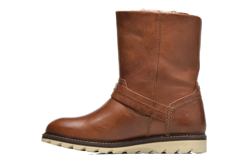 Bottines et boots Bullboxer Janaki Marron vue face