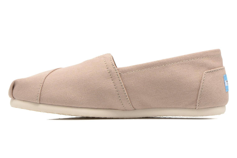 Sneaker TOMS Alpargata beige ansicht von vorne