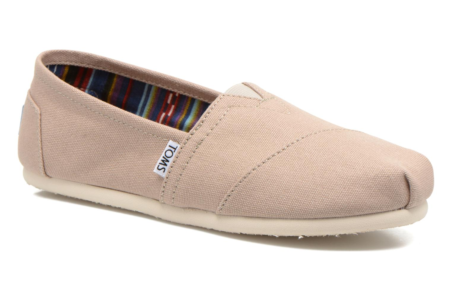 Trainers TOMS Alpargata Beige detailed view/ Pair view