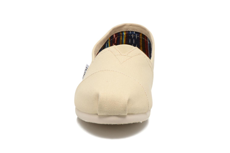 Espadrilles TOMS Classic beige schuhe getragen