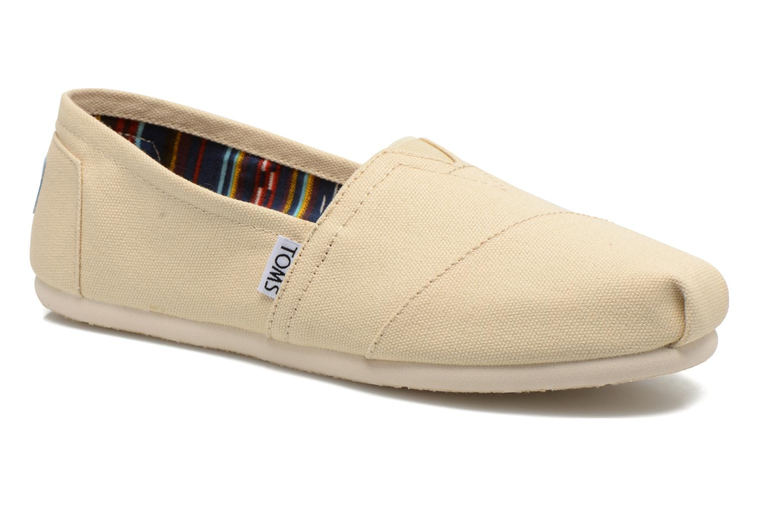Espadrilles TOMS Classic Beige detailed view/ Pair view