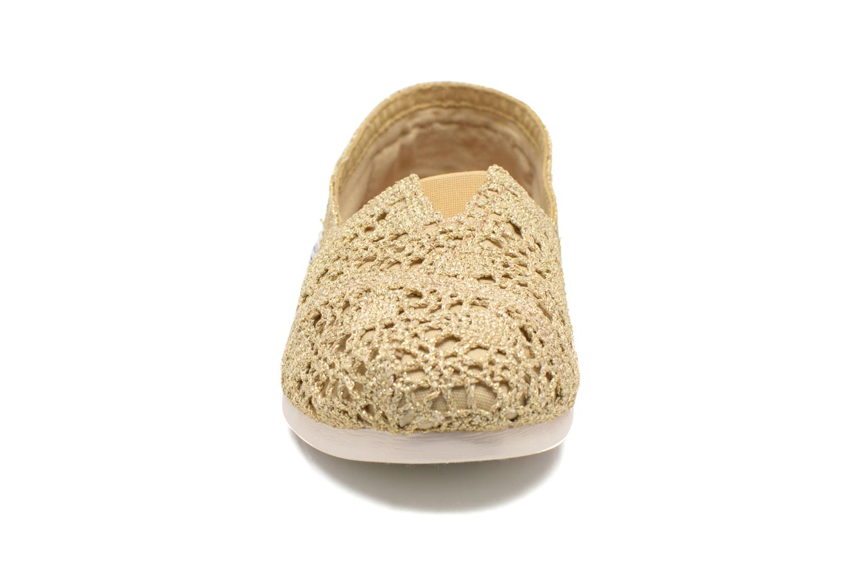 Espadrilles TOMS Seasonal Classics F Or et bronze vue portées chaussures