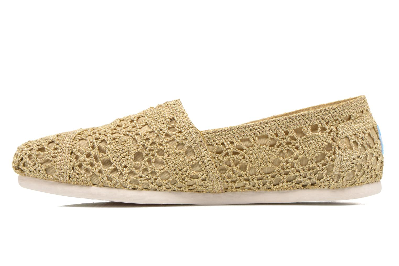 Espadrilles TOMS Seasonal Classics F Bronze and Gold front view