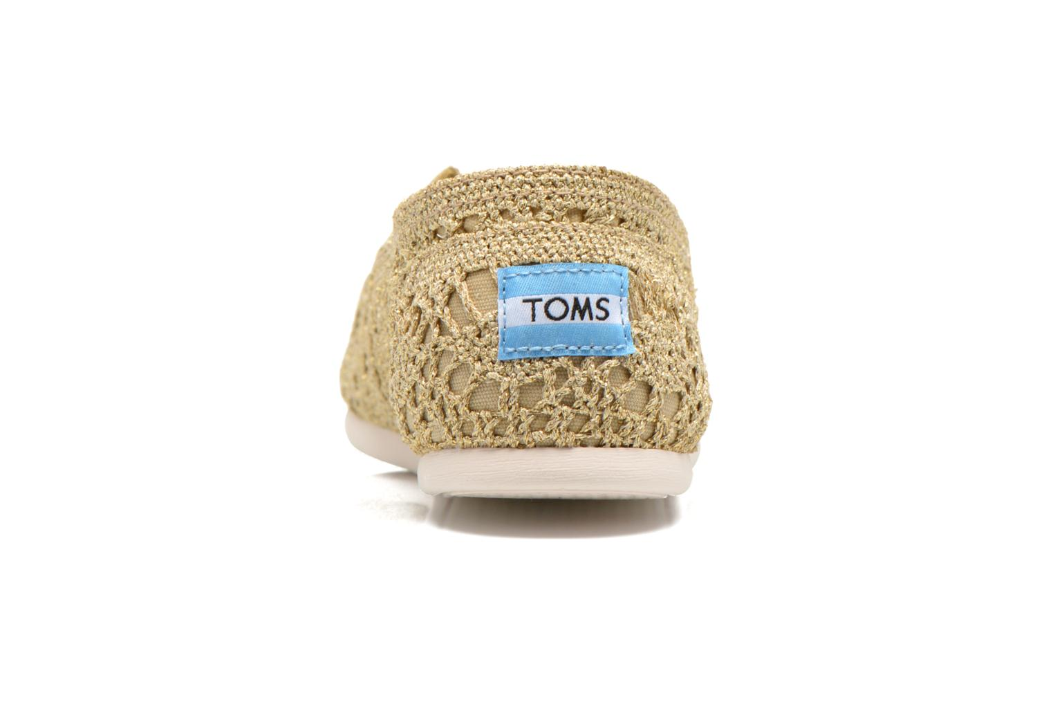 Espadrilles TOMS Seasonal Classics F Bronze and Gold view from the right