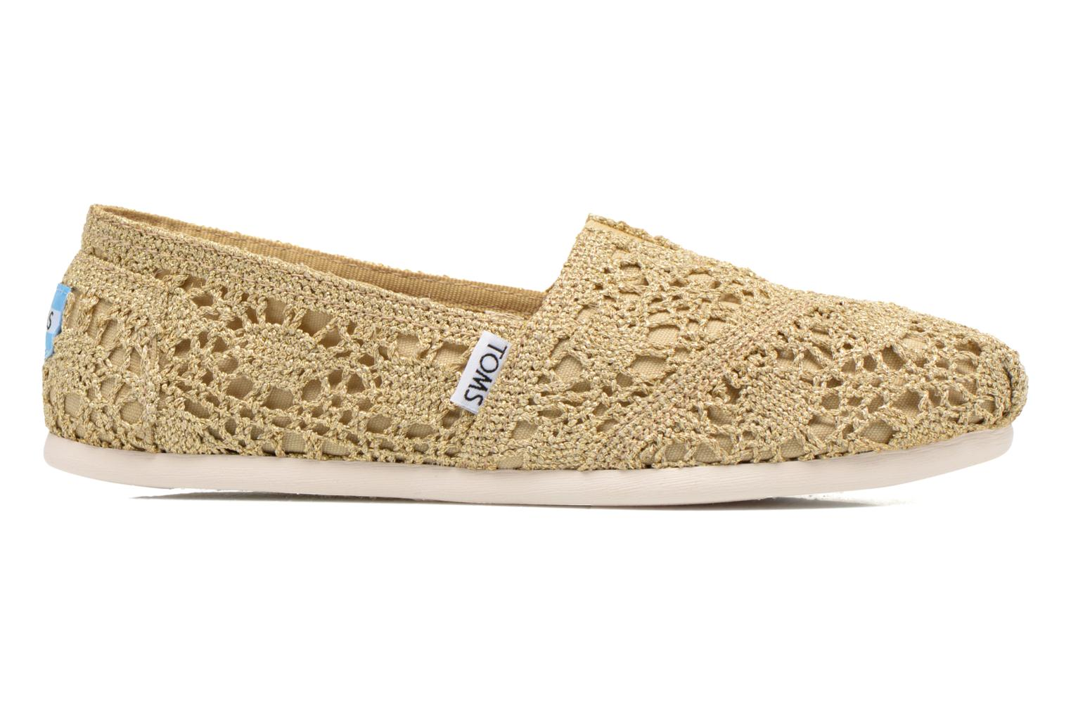 Espadrilles TOMS Seasonal Classics F Bronze and Gold back view