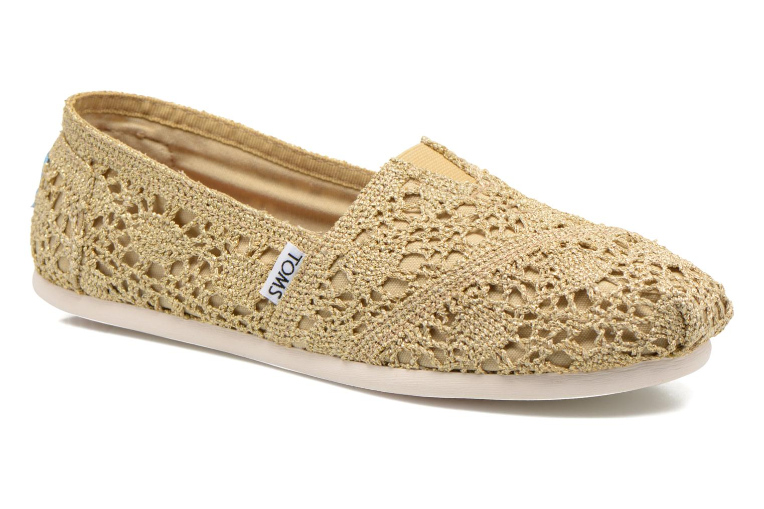 Espadrilles TOMS Seasonal Classics F Bronze and Gold detailed view/ Pair view