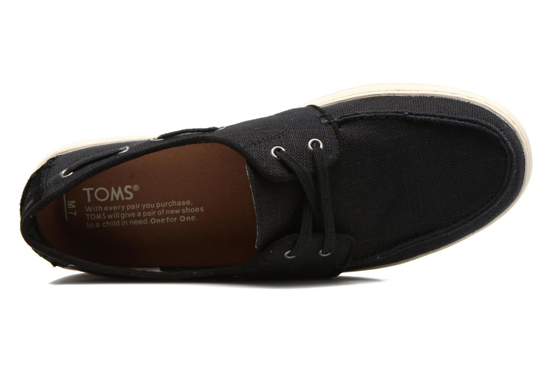 Schnürschuhe TOMS Culver Lace Up schwarz ansicht von links