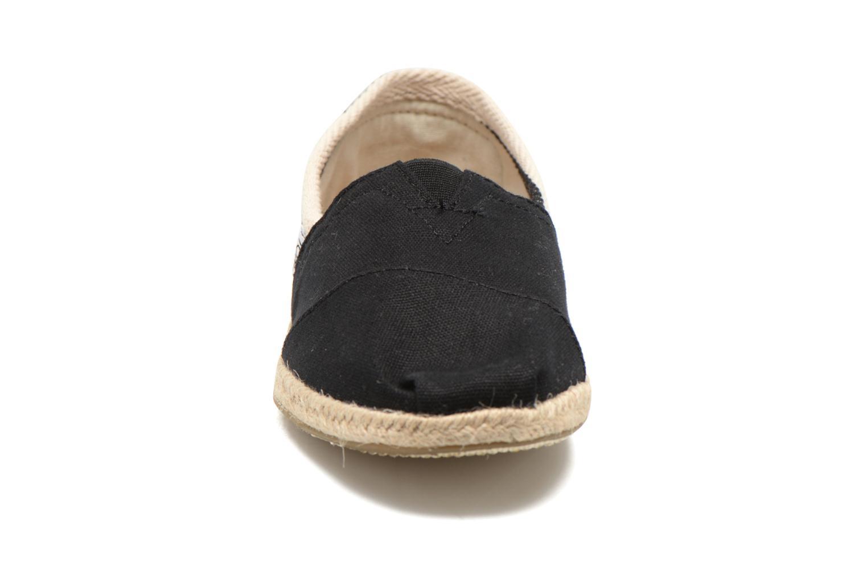 Espadrilles TOMS University Classics Noir vue portées chaussures