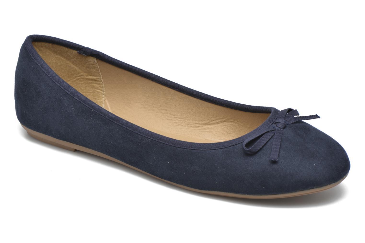Ballerines I Love Shoes Thapa Bleu vue détail/paire