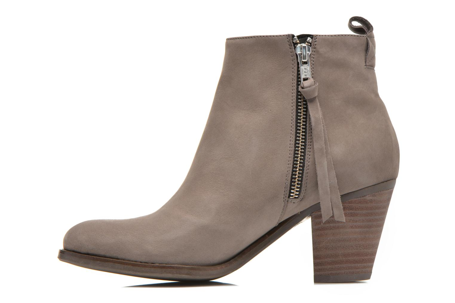 Bottines et boots Billi Bi Iris Beige vue face