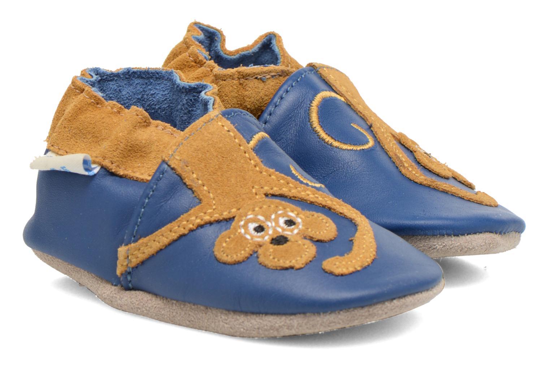 Hausschuhe Robeez Copycat blau detaillierte ansicht/modell