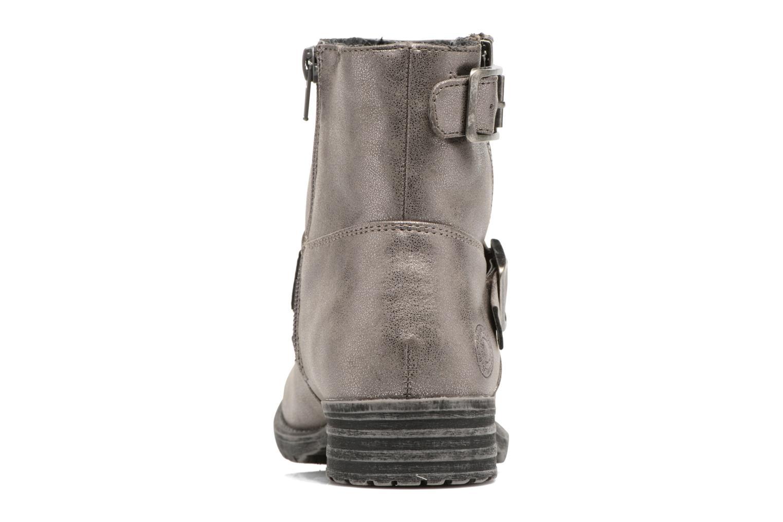 Bottines et boots Bullboxer Margota Argent vue droite