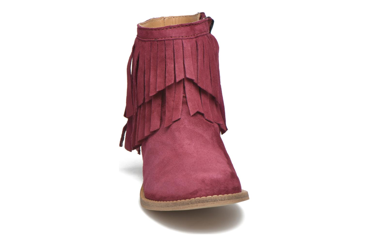 Ankle boots Mellow Yellow Mnarabel Burgundy model view
