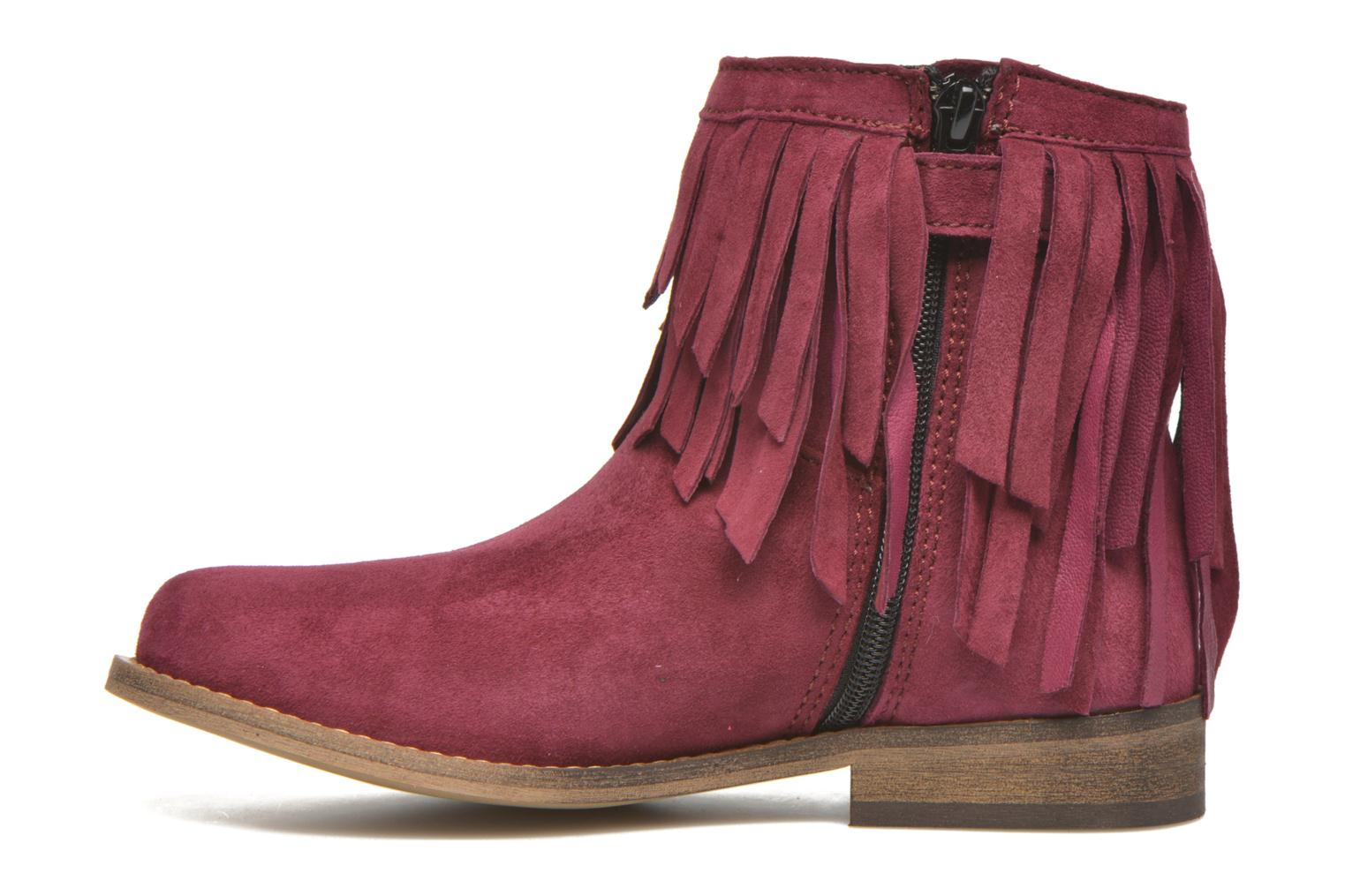 Ankle boots Mellow Yellow Mnarabel Burgundy front view