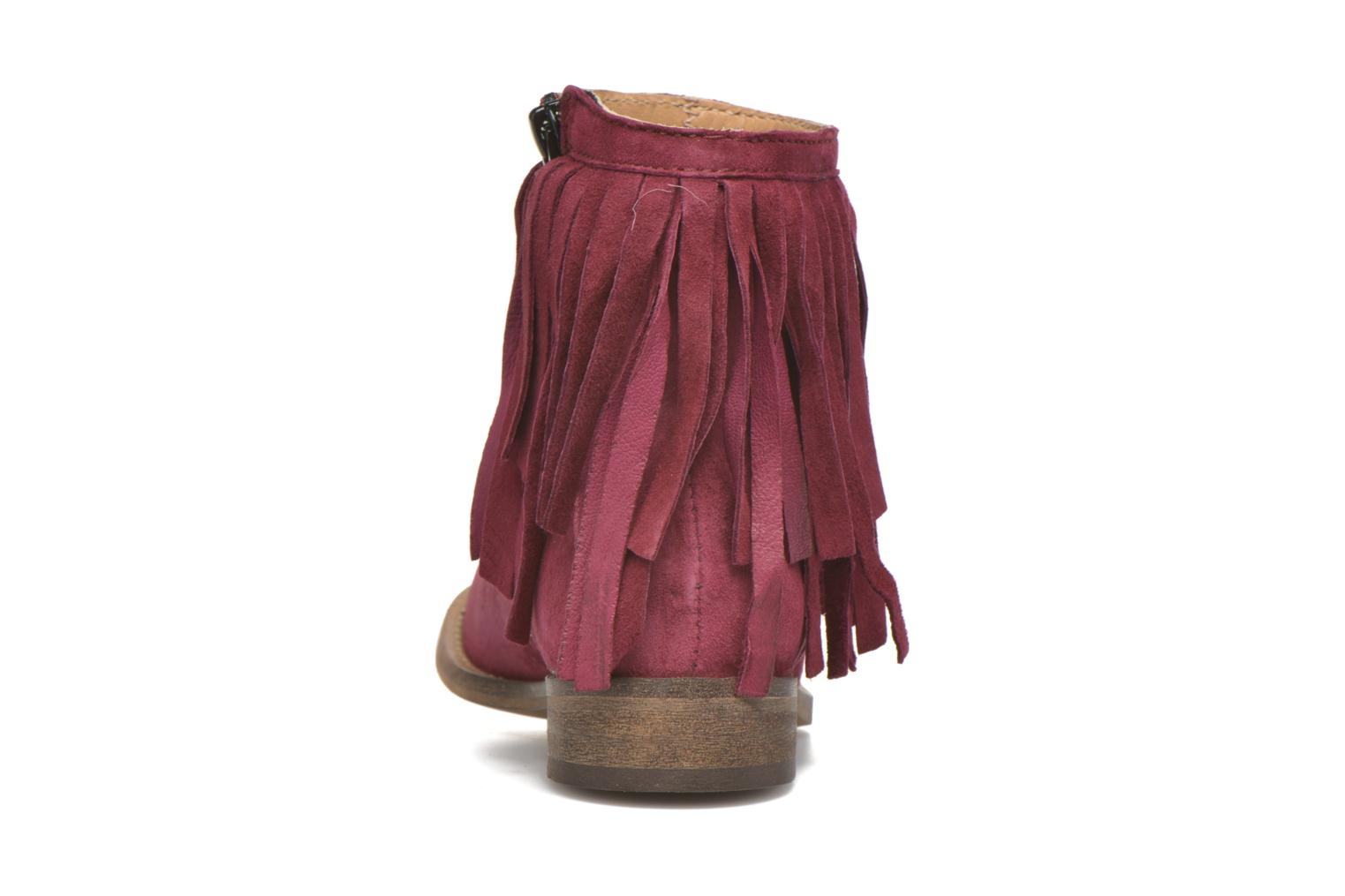 Ankle boots Mellow Yellow Mnarabel Burgundy view from the right