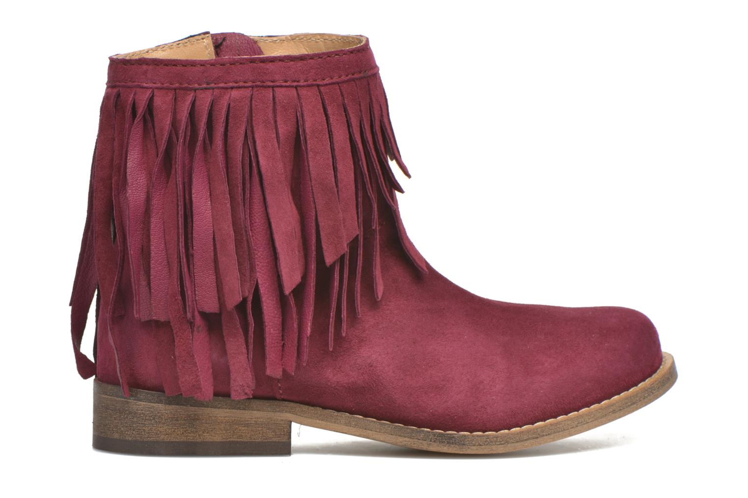 Ankle boots Mellow Yellow Mnarabel Burgundy back view