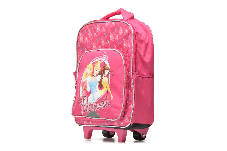 School bags Disney PRINCESSES - BACKPACK TROLLEY Pink model view