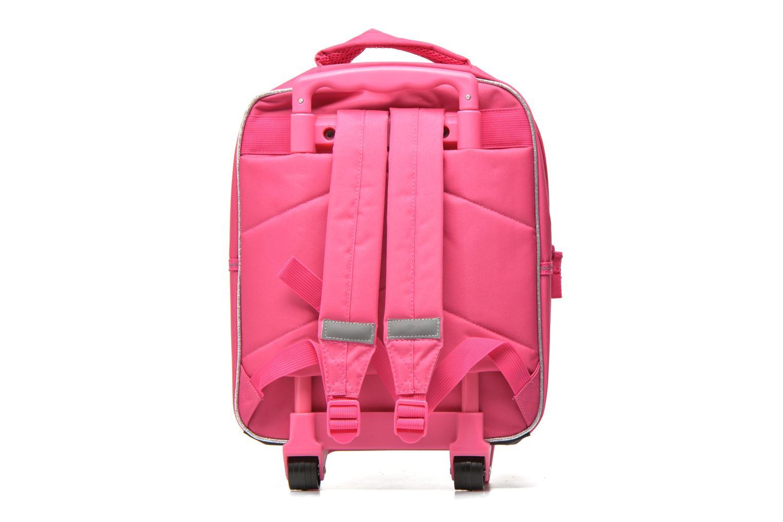 School bags Disney PRINCESSES - BACKPACK TROLLEY Pink front view