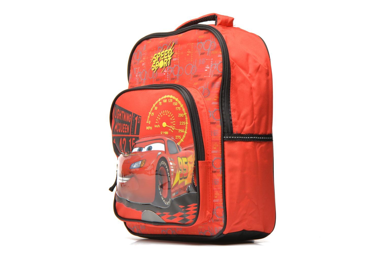 School bags Disney CARS - BACKPACK 35 CM Red model view