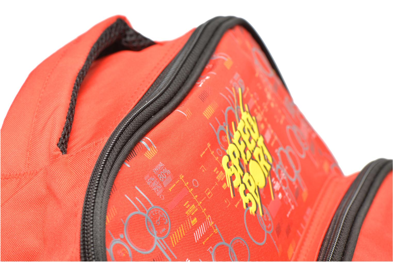 School bags Disney CARS - BACKPACK 35 CM Red view from the left