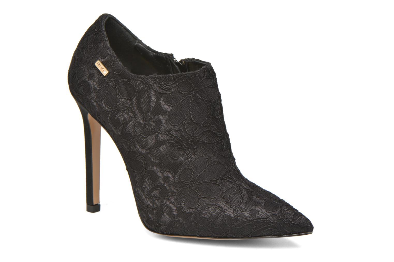 Anckle boot arancio nero 22222