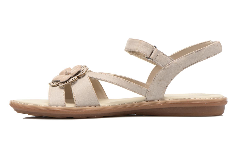 Sandali e scarpe aperte Geox JR Sandal Milk J52D1F Beige immagine frontale
